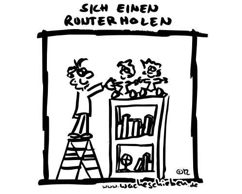 wacheschieben.de - jede Woche ein neuer Cartoon