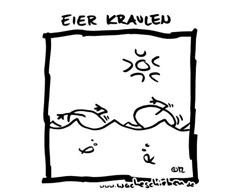 Podolski Eier Kraulen